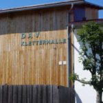 Die DAV- Kletterhalle in Bernau