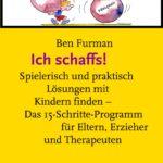 """Cover des Buches """"Ich schaffs!"""